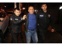 Asayiş uygulamasında direnen bir kişi polisi yaraladı