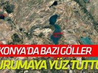 Konya'da bazı göller kurumaya yüz tuttu