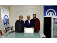 Vali Akın'dan AA Kırşehir Bürosu'na ziyaret