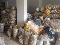 Bursa'da stokçu baskınından 35 ton patates çıktı