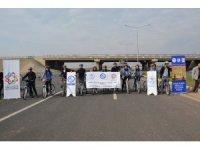 Irak sınırında 'Sağlık ve Doğa Bisikletle Buluşuyor' projesi