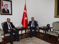 Başkan Özaltun'dan Vali Toprak'a ziyaret