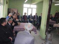 Kaymakam  Akbulut'un mahalle ziyaretleri