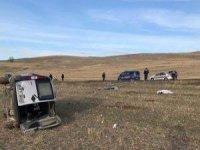 Konya'da karı-koca çift kazada öldü