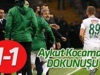 Konyaspor'a Aykut Kocaman dokunuşu:1-1