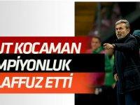 """Aykut Kocaman ilk kez """"Şampiyonluk ve Konyaspor"""" kelimesini bir arada kullandı"""