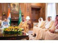 Veliaht Prens Salman, Hindistan Başbakanı Modi ile görüştü