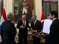 Cumhurbaşkanı Erdoğan'a Paraguay Devlet Nişanı