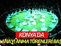 Konya'da Hazreti Mevlana'yı Anma Törenleri Başlıyor