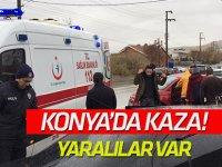 Konya'da kaza!