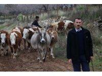 Siirt'te İŞKUR desteğiyle çiftlik kurdu