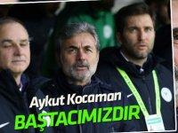 """Konyaspor Kulübü: """"Aykut Kocaman bizim baş tacımızdır"""""""
