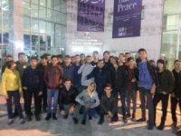 Lise öğrencileri Şeb-i Arus törenlerine katılıyor