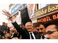 AK Parti'nin Isparta adayı Başdeğirmen'e kalabalık karşılama
