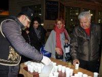Karatay Belediyesi Şeb-i Arus törenlerinde Salep geleneğini sürdürüyor