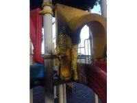 Milas'ta çocuk parkına çirkin saldırı