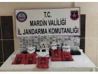 Mardin'de 4 bin 220 paket kaçak sigara ele geçirildi