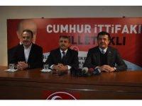 AK Parti İzmir adayı Zeybekci'den MHP ziyareti