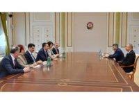 Azerbaycan Cumhurbaşkanı Aliyev, Bakan Pakdemirli'yi kabul etti