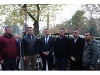 Silahlı kavgada hayatını kaybeden Denizlispor amigosu toprağa verildi