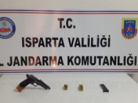 Jandarmanın üzerine araç süren tefeci, Konya'da yakalandı