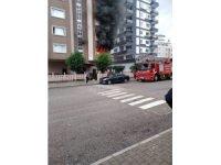 Mersin'de evde çıkan yangın korkuttu