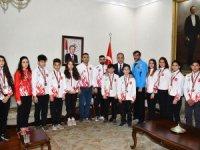 Muay Thai İl Temsilciliği'nden Vali Toprak'a ziyaret