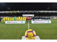 Spor Toto Süper Lig: MKE Ankaragücü: 0 - Medipol Başakşehir: 1 (İlk yarı)