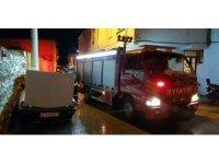 Kuşadası'nda şüpheli araç yangını