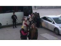 Açlık grevine destek olanlara operasyon: 14 gözaltı