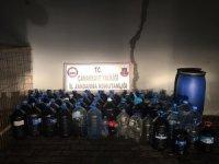 Çanakkale'de kaçak içki operasyonu