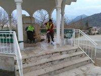 Seydişehir'de ibadethaneler temizleniyor