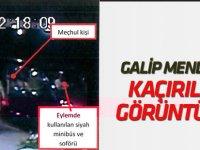 Jandarma eski Genel Komutanı Mendi'nin darbe girişimi sırasında kaçırılma anı güvenlik kamerasında