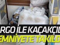 Kargo ile Kaçakçılık Akşehir Emniyetine Takıldı
