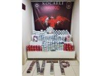 Kocaeli'de durdurulan tırda 251 bin 530 adet sentetik ilaç ele geçirildi