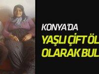 Konya'da Yaşlı Çift Ölü Olarak Bulundu