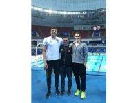 İzmirli yüzücüler Çin'de Türkiye'yi temsil ediyor