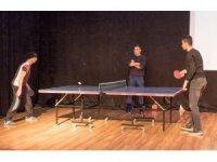 Hacılar 1. Masa Tenisi Turnuvası Başladı