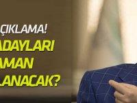 Özhaseki'den o adaylarla ilgili flaş açıklama!