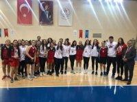 Basketbol Okullar Arası Genç A Kızlar il Birinciliği Tamamlandı