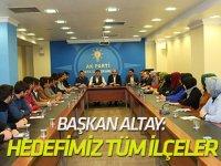 Başkan Altay: Hedefimiz en yüksek oyla tüm ilçeler
