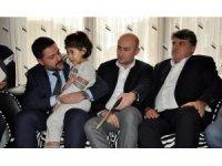 Beşiktaşlı yöneticilerden Mehmet Tutulkan'ın ailesine taziye ziyareti