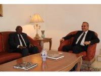 Gine Bissau Meclis Başkanından Dakar Büyükelçisine ziyaret