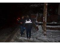 Kar yağışı nedeniyle kopan elektrik teli ölüme neden oldu