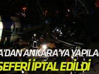 Konya'dan Ankara'ya Yapılacak Yht Seferi İptal Edildi