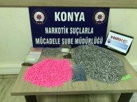 Yılbaşı torbacılarına Konya Narkotikten darbe