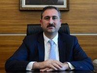 Adalet Bakanı Gül'den başsağlığı mesajı