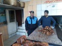 Zonguldak'ta simit fırınları denetlendi