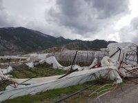 Anamur'da hortum ve yağışın zararı: 5 milyon 712 bin lira