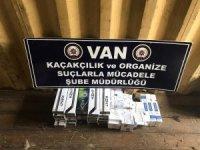 Van'da 4 bin 389 paket kaçak sigara ele geçirildi